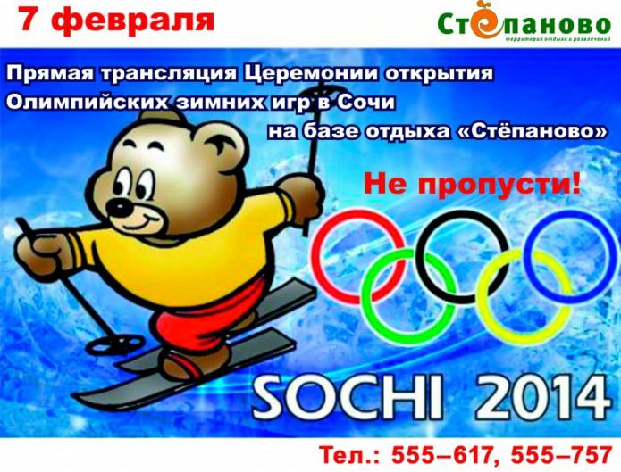 Олимпиада в Стёпаново!